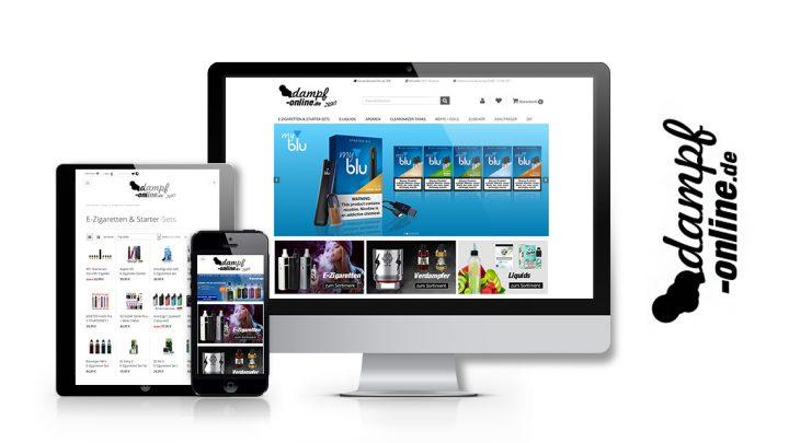 Unser Onlineshop – Dampf-online.de